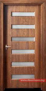 Интериорна врата Gama 207 - Златен дъб