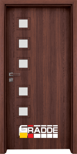 Интериорна врата Gradde Reichsburg – Шведски дъб