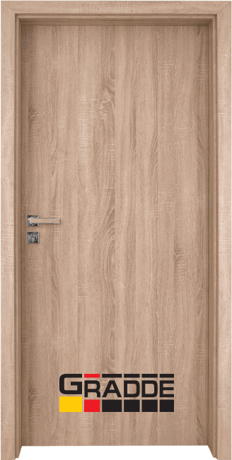 Интериорна врата Gradde Simpel – Дъб Вераде