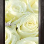 Стъклена врата модел Print 13-6 – Венге