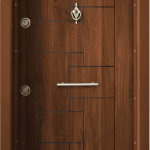 Блиндирана входна врата Т100 – Златен дъб
