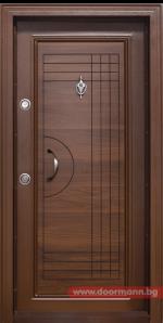 Блиндирана входна врата T305, Златен дъб