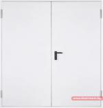 Метална пожароустойчива врата - двукрила