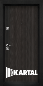 Блиндирана врата Серия Хармония Черна перла